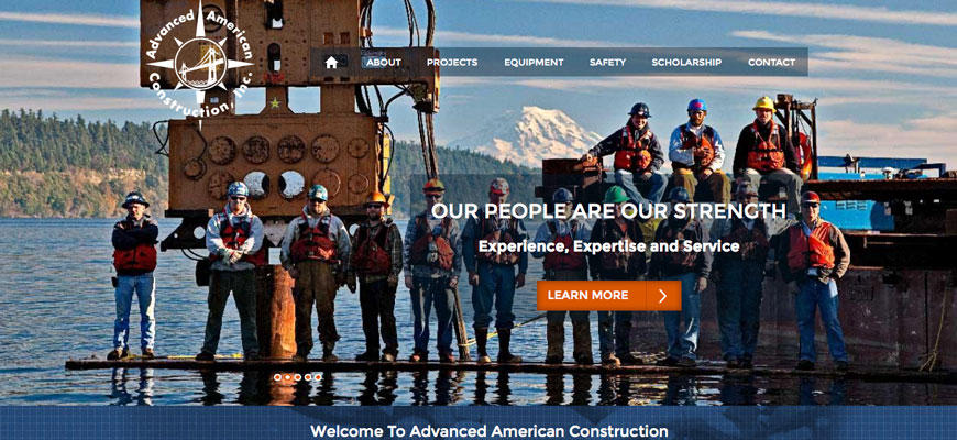 Advanced American Construction - Cascade Web Development
