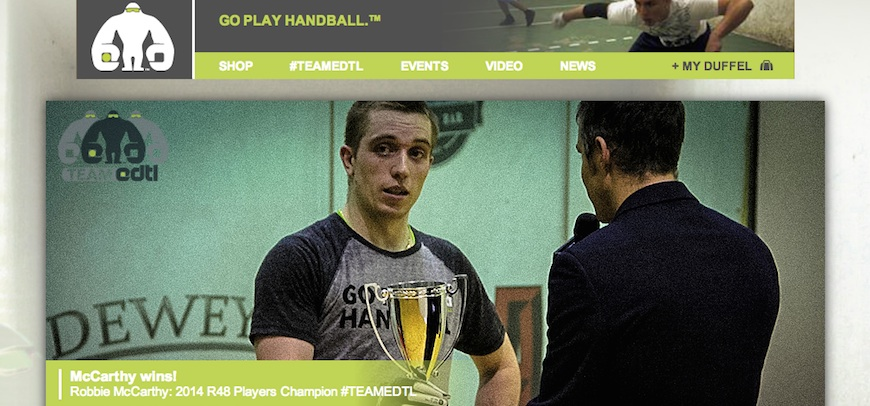 Edtl Handball Website | Cascade Web Development